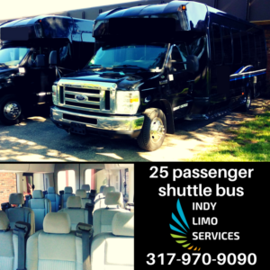 25 passenger shuttle bus - Indy Limo Services Fleet